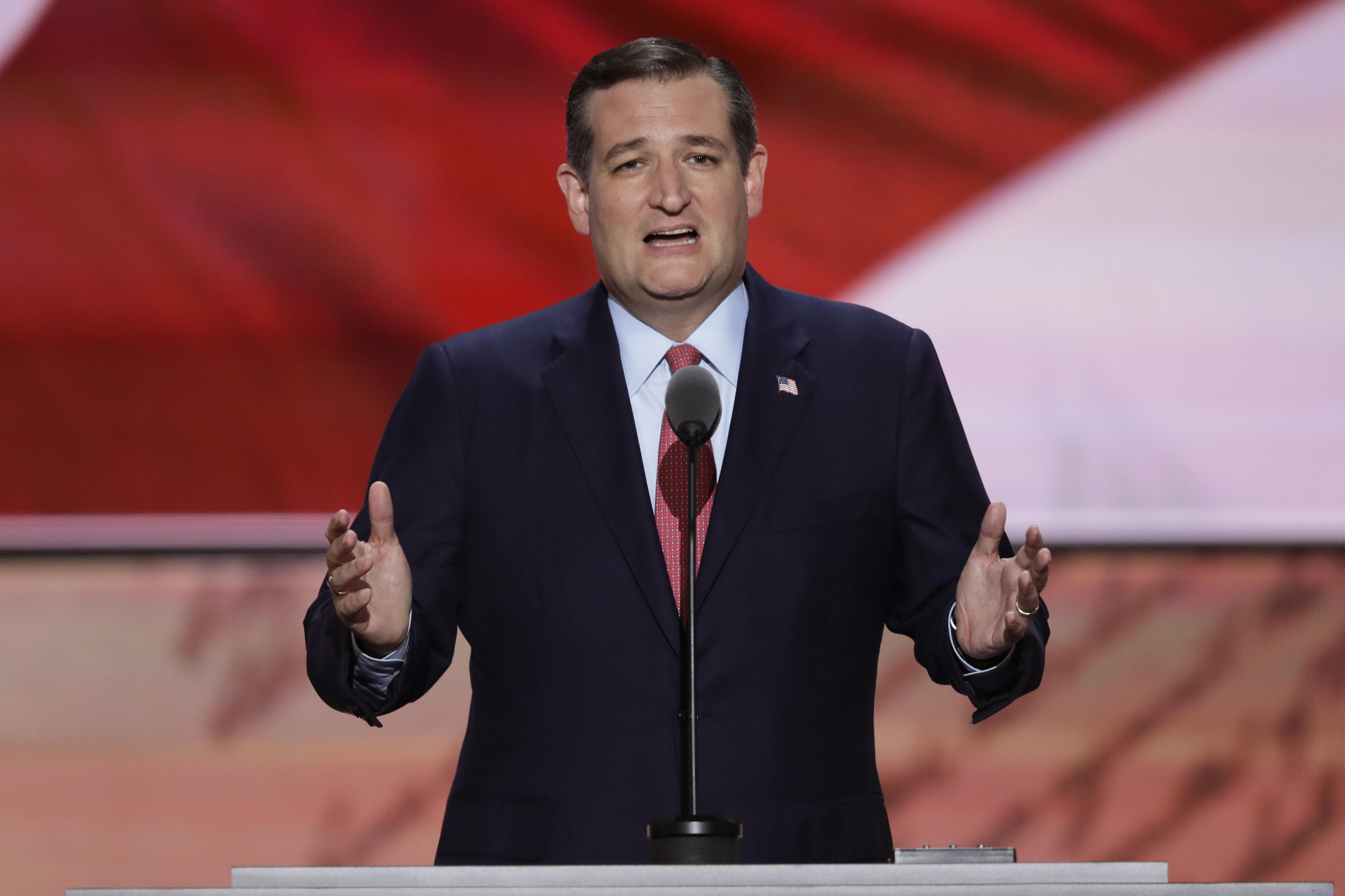 Senator Ted Cruz, Former Presidential Candidate