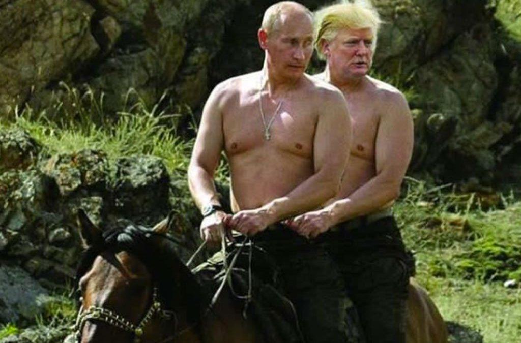 Russia, Putin, Trump, Jordan, LeBron, Julius Caesar, and Twitter?