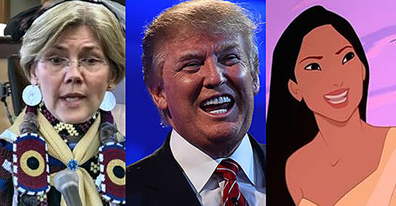Trump Apologizes to Pocahontas, Revoice.xyz, and Dave Harvey on Rescuing Ambition